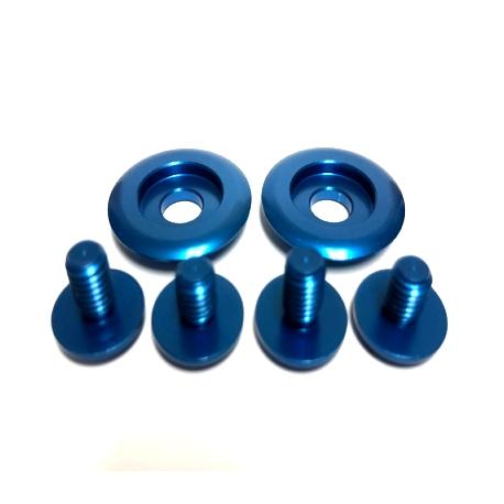 ARAI VISOR SCREW SET BLUE