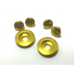 ARAI VISOR SCREW SET GOLD