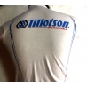 TILLOTSON RACING T - SHIRT WHITE