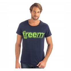 FREEM T-SHIRT BLUE MAN