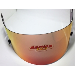 VISOR CK6 RED-ORANGE EFFEKT IRIDIUM