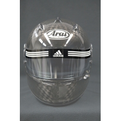 VISOR STICKER ADIDAS BLACK