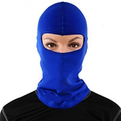 BALACLAVA BLUE COTTON