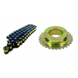 KIT KZ CHAIN & AXLE SPROCKET