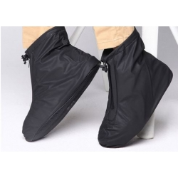 WATERPROOF OVERBOOT FOR RAIN BLACK