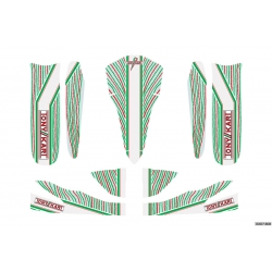 TONY KART STICKER KIT M5 - ROOKIE-NEOS