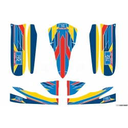 ALONSO STICKER KIT M5 - ROOKIE-NEOS