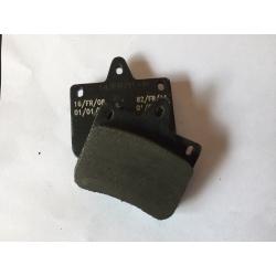 PAIR FRONT BRAKE PADS  V04 -V05-V06 SYSTEM CRG