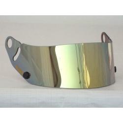 VISOR GP6 SK6 GOLD METAL MIRROR