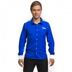 LONG SLEEVE SHIRT PRAGA BLU