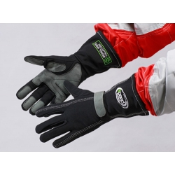 RACING GLOVES BLACK