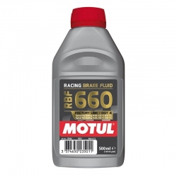 LIQUIDO DE FRENO MOTUL 660 DOT 4 COMPETICION 500 ML