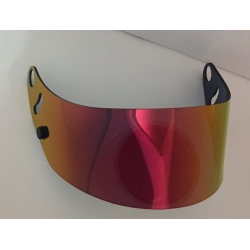 VISOR FOR ARAI RED-GOLD MIRROR IRIDIUM
