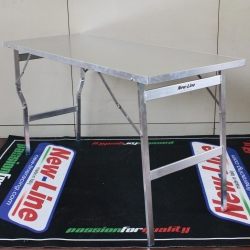 NEWLINE WORK TABLE ALUMINUM