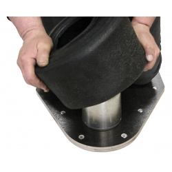 STONE TIRE MOUNTING PLATE