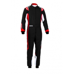 SPARCO RACE SUIT THUNDER BLACK - RED