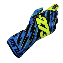 GLOVES -273 BLITZ BLUE-PINK