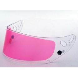 ARAI VISOR GP7 CLEAR + PINK ANTIFOG
