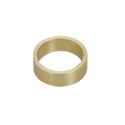FRONT STUB AXLE SPACER GOLD 25MM X 10 MM