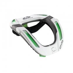 NECK BRACE R4K EVS WHITE & FLUO GREEN