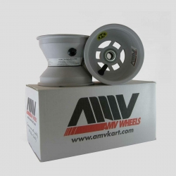 SET FRONT AMV MAGNESIUM WHEELS 110 MM  FOR BEARING