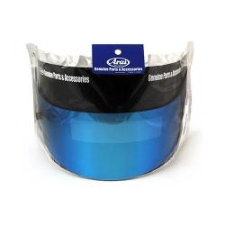 ARAI VISOR GP7 MIRROR BLUE