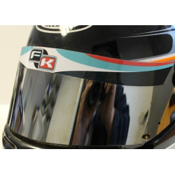 VISOR STICKER FK