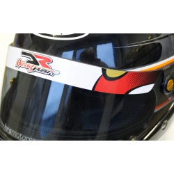 VISOR STICKER DR