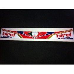 BIREL VISOR STICKER
